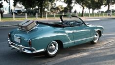 Volkswagen Karmann-Ghia by mustaninja Karmann Ghia Convertible, Volkswagen Karmann Ghia, Vintage Racing, Vintage Cars, My Dream Car, Dream Cars, Cabriolet, Vw Cars, Mode Of Transport