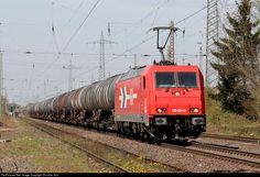 RailPictures.Net Photo: 185 604-6 HGK Häfen und Güterverkehr Köln BR 185 at Ratingen, Germany by Christian Schürmann