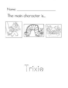 knuffle bunny too coloring pages | addition number sentence add 18 | school stuff | Pinterest ...