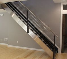 Decorating Inviting Modern Stair Railings Styles - http://www.beautyandhairstyle.com/home-decor/decorating-inviting-modern-stair-railings-styles.html