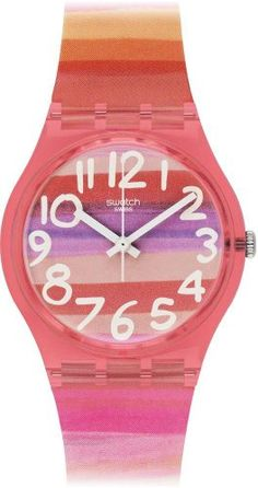 Swatch Orologio da Donna Analogico al Quarzo con Cinturin... https://www.amazon.it/dp/B00ELLYARI/ref=cm_sw_r_pi_dp_U_x_r44uAbTEAT8Y2