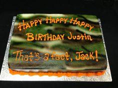 Duck Dynasty Inspired 1/4 Sheet-Jo's Custom Cakes and Catering#duckdynastycake