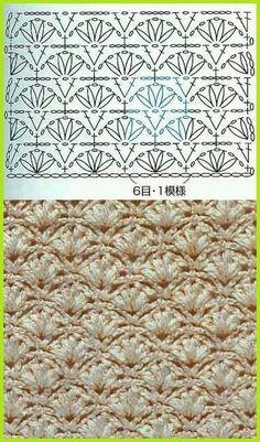 Stitch crochet