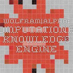 Wolfram|Alpha: Computational Knowledge Engine