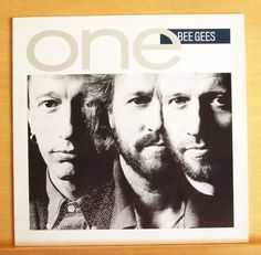 BEE GEES One Vinyl LP Ordinary Lives Tokyo Nights Flesh and Blood Tears Top RARE