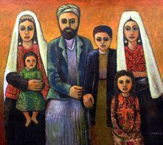 Bethlehem Family, 2011-Nabil Anani (Palestinian Artist)