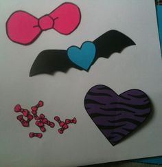 Monster High decorations...made for friend...KDR