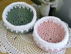 Tee Shirt/Trapillo Yarn PDF Basket Pattern by DesignsbyDEWaltz