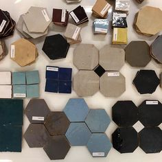 Absolutely swooning over the new line Tangier from @tabarkastudio. Samples JUST arrived and were already dreaming of ways to use them!  #tflchi #new #newcollection #glazedterracotta #madeinmorocco #chicagoshowroom #backsplashtile #walltile #floortile #freezethaw #exteriortile #interiortile #bebold #moderntile #traditionaltile #new #classicdesign #boldpatterns #tileobsession #tileaddiction #classic by thefinelinechi