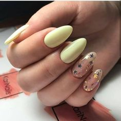 130 cute spring nail art designs to spruce up your next mani page 30 - nails - Cute Spring Nails, Spring Nail Art, Cute Nails, Pretty Nails, Summer Nails, Fancy Nails, Star Nail Art, Cool Nail Art, Solid Color Nails