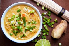 thai curry soup.  via thedailymuse.