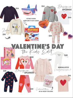 Valentine's day looks for kids Kids outfits