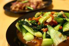 Chinese stir-fried Bok Choy w/Shrimp ~ Singapore Food   Recipes