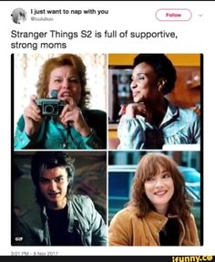 Ahaha Steve. But I mean... who doesn't love him in season 2?