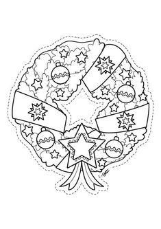 dibujos navideos para colorear  Ideas para Navidad  Pinterest
