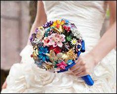 Bloemen voor het bruidsboeket