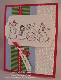 LaLatty Stamp 'N Stuff: Frosty Snowmen