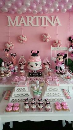 fiesta tematica minnie mouse