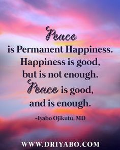 Quotes About Peace And Happiness Entrancing Piniyabo Ojikutu On Author Quotes  Pinterest  Peace And