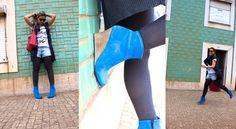 $190. It Filipa Blue Boots