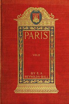 ≈ Beautiful Antique Books ≈ Paris in its splendour
