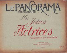 REUTLINGER (il.)- Nos jolies actrices 4_Ludovic Baschet (Paris), s.d. (Le Panorama  Hebdomadaire) | by Performing Arts / Artes Escénicas