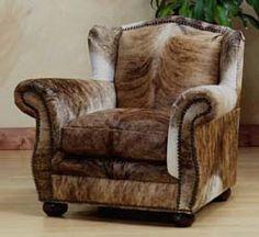 Bonanza Brindle Club Chair. Perfect accent piece.