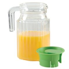 glass pitcher with lid - Pitchers For Kids