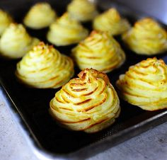 Duchess Potatoes are amazing! I've had them before just not this recipe going to have to try hers!