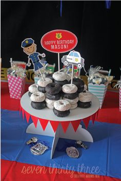 Super cute Police Themed Birthday Party by @Roo Moo N°7 thirty three - - - a creative blog