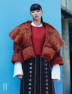 koreanmodel: Bae Yoon Young by Mok Jung Wook for W Korea Jan...
