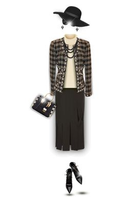 """Tweed-el-Dee"" by truthjc ❤ liked on Polyvore featuring Yves Saint Laurent, Topshop, Opening Ceremony, Étoile Isabel Marant, Chanel, Lulu Frost, Bling Jewelry and MCM"