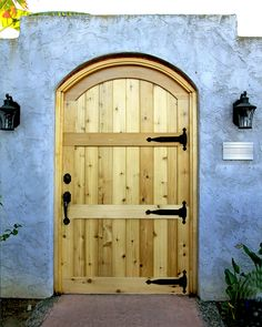 Custom Ipe Garage Door With Asymmetrical Windows With Tinted Glass And  Silver Steel Frames. Custom Made Garage Door Design For Au2026