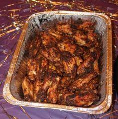 Chicken wings cajun