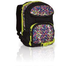 Plecak młodzieżowy z dwiema komorami. Plecak do gimnazjum ma mniejsze wymiary i jest bardzo zgrabny :-)