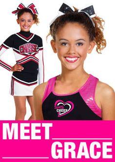 Carolina Cute Cheer Practice Youth Soffe Shorts