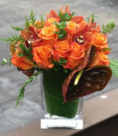 Add to your Thanksgiving decorations with our Arrangement of the Month this November!