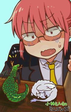 See more 'Miss Kobayashi's Dragon Maid' images on Know Your Meme! Manga Anime, Anime Art, Loli Kawaii, Kawaii Anime, Kobayashi San Chi No Maid Dragon, Tiny Dragon, Otaku, Miss Kobayashi's Dragon Maid, Kyoto Animation