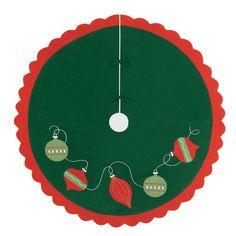 Found it at Wayfair - Ornaments Felt Christmas Tree Skirt