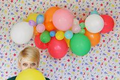 le fru frù | Ghirlanda di palloncini