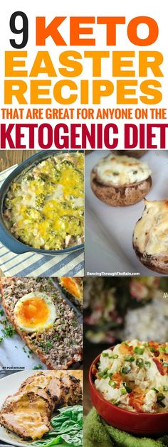 These keto easter recipes are THE BEST! I'm so glad I've found these delcious low carb meal ideas for Easter! Now my family and I can can enjoy some really tasty keto recipes and I can continue on my low carb high fat diet to lose weight and be healthy ev