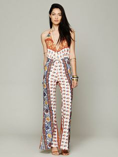 Free People Lady Tangier Jumpsuit, 168.00