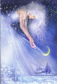 Fan Art of Fairy for fans of Fairies 42773272 Fantasy Kunst, Fantasy Art, Animation, Moon Goddess, Angel Art, Moon Art, Fairy Art, Magical Creatures, Fantasy World