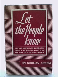 Let the People Know | New and Used Books from Thrift Books
