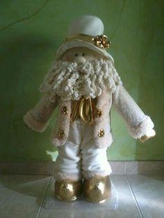 Muñecos Navideños Elves And Fairies, Xmas, Christmas, Santa, Teddy Bear, Seasons, David, Handmade Christmas Decorations, Christmas Angels