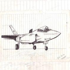 Que tiempos aquellos, casi todos los días dibujaba lo que quería. El de aquí un #avión sencillo.  I used to draw what I wanted almost every day. Here is a simple #airplane.  #art #sketch #illustration #arte