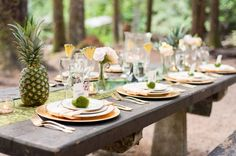 Swooned: Aloha State of Mind: A Hawaiian-Inspired Styled Shoot in the Pacific Northwest