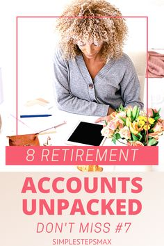 Don't get overwhelmed by the different types of retirement accounts available to you. Learn about the different individual retirement account options. Option #7 is the best! #retirement #financialtips #investing #moneytips Retirement Savings Plan, Retirement Accounts, Saving For Retirement, Early Retirement, Roth Account, Employer Identification Number, Individual Retirement Account, You Are The Greatest, Capital Gain