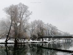 Podul Intelectualilor iarna | Oradea in imagini
