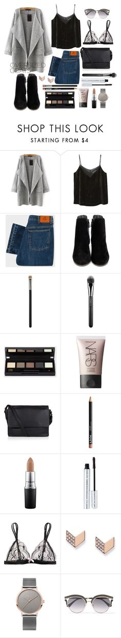 """Oversized Coat"" by r-bye ❤ liked on Polyvore featuring MANGO, PS Paul Smith, Cole Haan, MAC Cosmetics, NARS Cosmetics, Marc by Marc Jacobs, 100% Pure, L'Agent By Agent Provocateur, FOSSIL and Jimmy Choo"